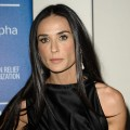 Demi Moore attends the Cinema for Peace fundraiser for Haiti at Montage Beverly Hills in Beverly Hills, Calif. on January 14, 2012