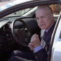 Tim Gunn gets behind the wheel on 'The Revolution' on ABC, January 26, 2012