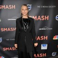 Uma Thurman steps out the NBC Entertainment & Cinema Society premiere of 'Smash' at the Metropolitan Museum of Art in New York City on January 26, 2012