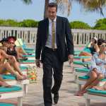 Jeffrey Dean Morgan as Ike Evans in Starz's 'Magic City'