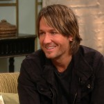 Keith Urban stops by Access Hollywood Live, January 17, 2012