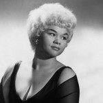 Etta James seen in January 1961