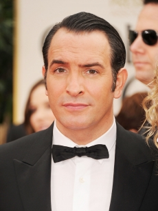 'The Artist' star Jean Dujardin arrives at the 69th Annual Golden Globe Awards held at the Beverly Hilton Hotel in Beverly Hills, Calif. on January 15, 2012