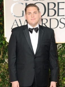 Jonah Hill steps out at the 69th Annual Golden Globe Awards held at the Beverly Hilton Hotel in Beverly Hills, Calif. on January 15, 2012