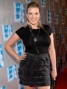 Jodie Sweetin arrives to support The Gay and Lesbian Center's gala 'An Evening With Women' at The Beverly Hilton hotel in Beverly Hills on April 16, 2011