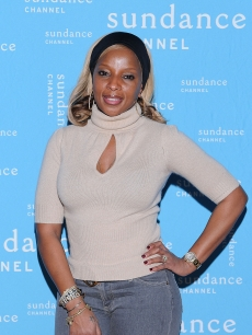 Mary J. Blige attends the Sundance Channel HQ Hosts An Artist Talk with Mary J. Blige For 'The Invisible War' during the 2012 Sundance Film Festival in Park City, Utah, on January 20, 2012