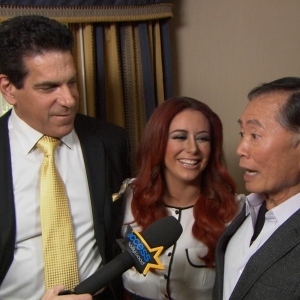 Dish Of Salt At The 2012 NBC TCAs: Aubrey O'Day, George Takei & Lou Ferrigno Talk 'Celebrity Apprentice' Season 5