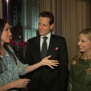Dish Of Salt: Sarah Michelle Gellar & Ioan Gruffudd Talk Keeping The Story Straight On 'Ringer'