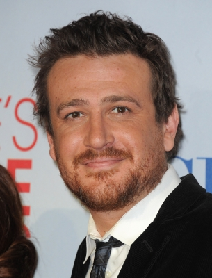 Jason Segel poses in the press room at the People&#8217;s Choice Awards 2012 at Nokia Theatre LA Live on January 11, 2012 