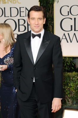 Clive Owen steps out at the 69th Annual Golden Globe Awards held at the Beverly Hilton Hotel in Beverly Hills, Calif. on January 15, 2012