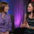Geri Jewell chats with AccessHollywood.com's Laura Saltman in Los Angeles on January 25, 2012