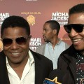 Tito Jackson & Jackie Jackson Celebrate the 'Michael Jackson The Immortal World Tour' LA Opening