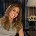 Jennifer Lopez chats with Access Hollywood in New York City on January 30, 2012