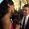 2012 Screen Actors Guild Awards Red Carpet: The Cast Of 'Glee' Talks Michael Jackson Episode