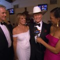 2012 Screen Actors Guild Awards Backstage: Larry Hagman, Patrick Duffy & Linda Gray Talk 'Dallas' Reunion