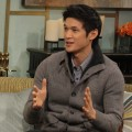 Harry Shum Jr. appears on Access Hollywood Live on January 31, 2012