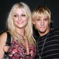 Leslie Carter and Aaron Carter during Howie Dorough Birthday Celebration to Raise Awareness of Lupus at LAX in Hollywood, August 16, 2006