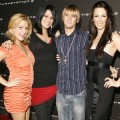 Leslie Carter, Bobbie Carter, Aaron Carter and Angel Carter, November 8, 2006