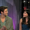 'Glee's' Grant Gustin sits down with AccessHollywood.com's Laura Saltman, February 1, 2012
