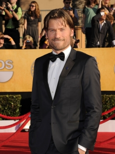 'Game of Thrones' actor Nikolaj Coster-Waldau arrives at the 18th Annual Screen Actors Guild Awards at The Shrine Auditorium in Los Angeles on January 29, 2012