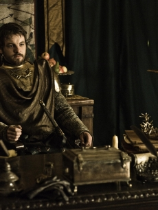 Gethin Anthony as Renly Baratheon in 'Game of Thrones' Season 2