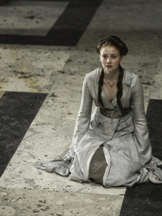 Sophie Turner as Sansa Stark in 'Game of Thrones' Season 2