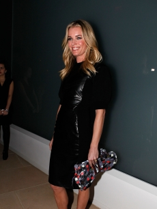 Rebecca Romijn attends FIJI Water At Cynthia Rowley Fall 2012 Collection at IAC Building, New York City, on February 9, 2012