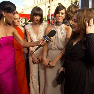 2012 Screen Actors Guild Awards Red Carpet: 'Bridesmaids' Cast Talks Sequel Rumors