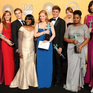 2012 Screen Actors Guild Awards Backstage: &#8216;The Help&#8217;s&#8217; Big Night!