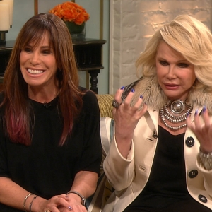 Joan & Melissa Rivers Weigh In On Pop Culture… Celebs Take Cover!