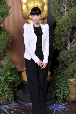 Rooney Mara attends the 84th Academy Awards Nominations Luncheon at The Beverly Hilton hotel on February 6, 2012 in Beverly Hills, Calif.