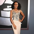 Kelly Rowland steps out in style at the 54th Annual Grammy Awards held at Staples Center in Los Angeles on February 12, 2012
