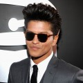Bruno Mars steps out at the 54th Annual Grammy Awards held at Staples Center in Los Angeles on February 12, 2012