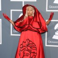 Nicki Minaj steps out at the 54th Annual Grammy Awards held at Staples Center in Los Angeles on February 12, 2012