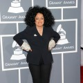 Diana Ross arrives at The 54th Annual Grammy Awards at Staples Center in Los Angeles on February 12, 2012