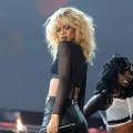 Rihanna performs onstage at The 54th Annual Grammy Awards at Staples Center in Los Angeles on February 12, 2012