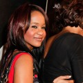 Bobbi Kristina Brown arrives to the The love of R&amp;B Grammy Party at Tru Hollywood, Hollywood, on February 9, 2012