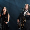 Joy Williams and John Paul White of The Civil Wars perform at The 54th Annual Grammy Awards at Staples Center in Los Angeles on February 12, 2012