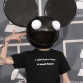 Deadmau5 arrives at The 54th Annual Grammy Awards at Staples Center in Los Angeles on February 12, 2012