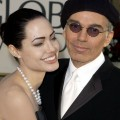 Angelina Jolie and Billy Bob Thornton arrive at the Golden Globe Awards at the Beverly Hilton in Beverly Hills, Calif. January 20, 2002 