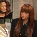 Stacy Francis chats with Access Hollywood on February 15, 2012; inset: Whitney Houston