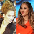 Jennifer Lopez in 1998 and in 2012