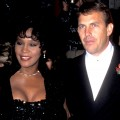 Whitney Houston and Kevin Costner attend &#8216;The Bodyguard&#8217; Hollywood premiere in Los Angeles on November 23, 1992