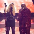 Christina Aguilera and Cee Lo Green perform a Prince medley on 'The Voice' Season 2, NBC