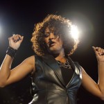 Whitney Houston performs live during a concert at the O2 World in Berlin, Germany on May 12, 2010