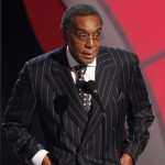 Don Cornelius presents the BET Lifetime Achievement Award onstage during the 2009 BET Awards held at the Shrine Auditorium, Los Angeles, on June 28, 2009