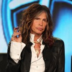 Steven Tyler speaks during the 'American Idol' panel during the FOX Broadcasting Company portion of the 2012 Winter TCA Tour at The Langham Huntington Hotel and Spa, Pasadena, on January 8, 2012