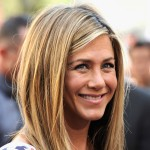 Jennifer Aniston is all smiles while she was honored with a star on the Hollywood Walk Of Fame in Hollywood, Calif. on February 22, 2012