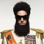 Sacha Baron Cohen as Admiral General Shabazz Aladeen in 'The Dictator'