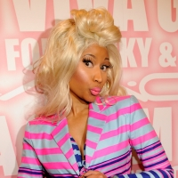 Nicki Minaj attends MAC Cosmetics celebrates the Viva Glam launch with Nicki Minaj and Ricky Martin at Stage 37, New York City, on February 15, 2012